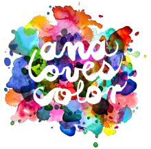 AnaLovesColor logo
